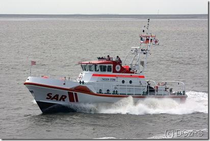 Seenotkreuzer THEODOR STORM der Deutschen Gesellschaft zur Rettung Schiffbrüchiger (DGzRS)