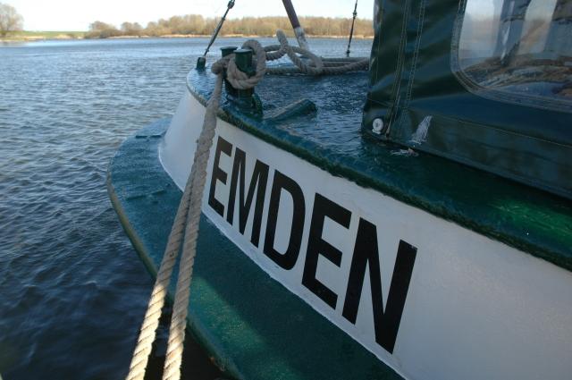 """Offizieller Heimathafen Emden: Die """"Große Freiheit II"""""""