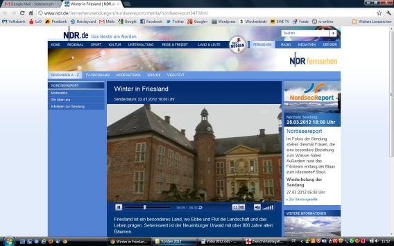 NDR: Winter in Friesland