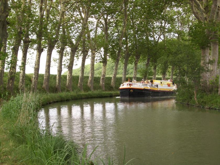 Canal du Midi bei Béziers, Südfrankreich. Foto (c): Helmut Burlager