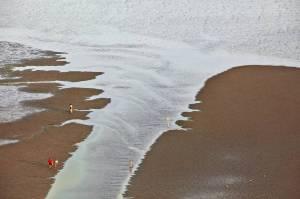 Landschaft in stetiger Veränderung: das Wattenmeer. Mit unzähligen Aufnahmen dokumentiert Olaf Döring  den Wandel. Foto (c): Olaf Döring