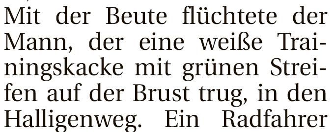 Finde den Fehler. Erschienen am 2. April 2013 im Jeverschen Wochenblatt. Shit happens...