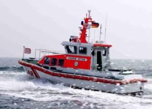 "Das Seenotrettungsboot ""Casper Otten"". Foto (c): DGzRS"