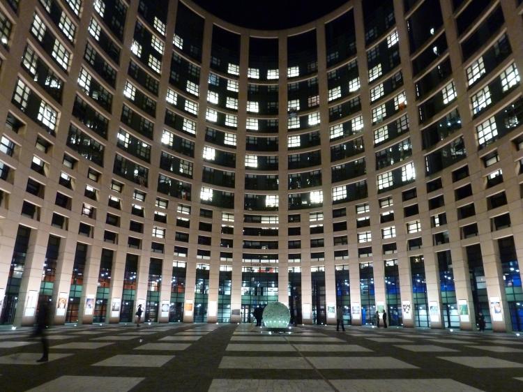 EU-Parlament in Straßburg. Foto©: Helmut Burlager