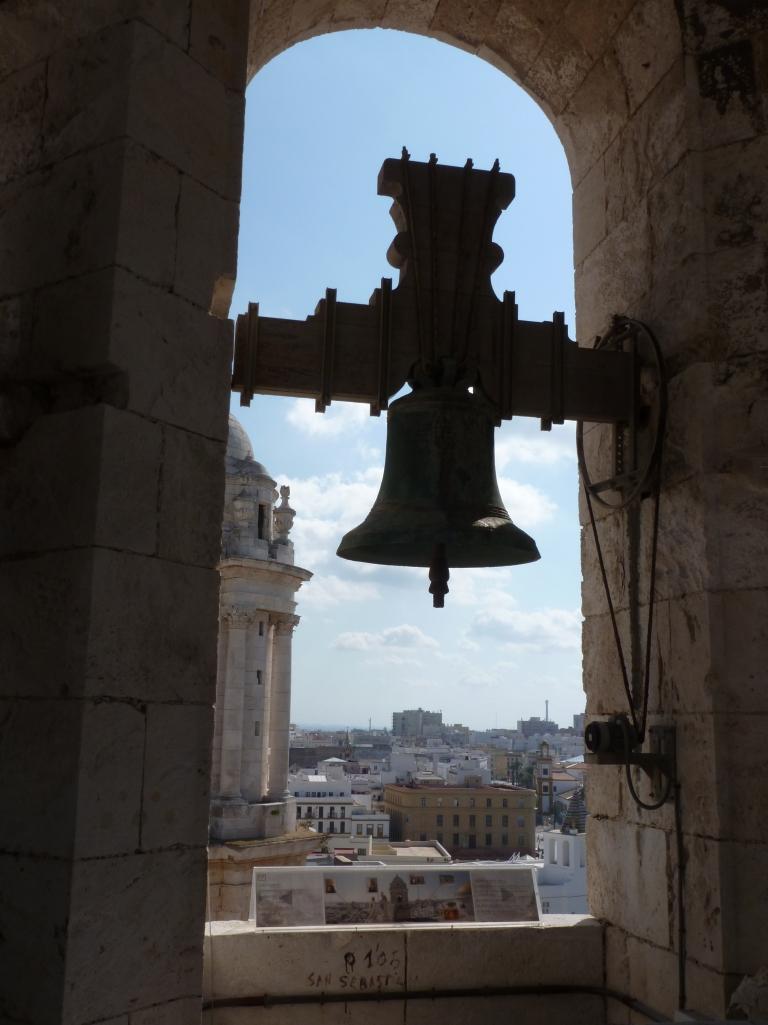 Torre de Poniente, Kathedrale von Cadiz, Spanien.  Foto: Helmut Burlager