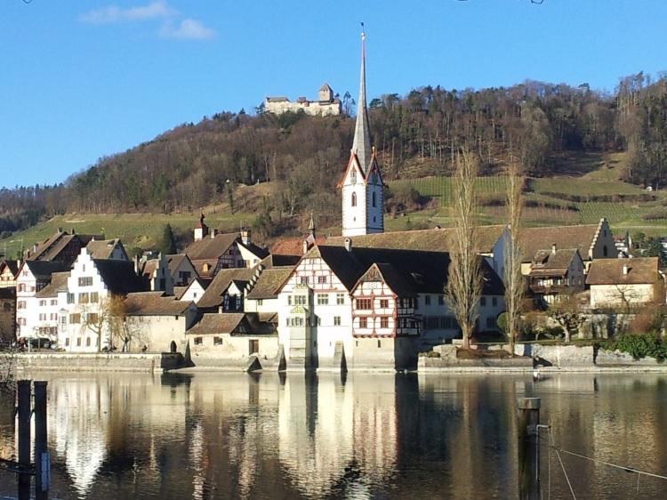 Stein am Rhein, Schweiz. Foto: Helmut Burlager