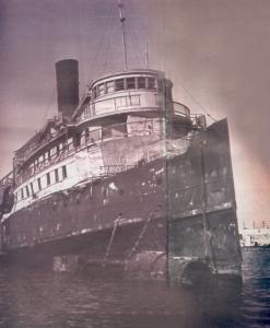 "Die ""Exodus"". Bildquelle: Wikimedia Commons / Pikiwiki Israel"