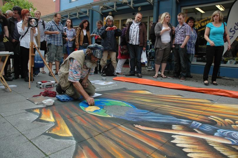 Street Art Festival 2011 in Wilhelmshaven. Mittlerweile ist die vierte Auflage der Großveranstaltung in Planung. Foto: Helmut Burlager