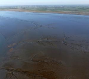 Wattenmeer zwischen Wangerooge und dem Wangerland. Foto: Helmut Burlager