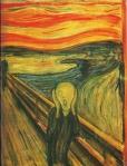 Edvard Munch: Der Schrei.  Aufnahme: Archiv Dr. Gerd Presler