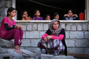Flüchtlingen im Nordirak werden von der REACH, der Partnerorganisation der Diakonie Katastrophenhilfe versorgt. Bild: Diakonie Katastrophenhilfe