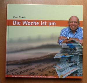 Prägt die EZ seit Jahrzehnten: Klaus Fackert. Hier auf dem Cover seines Buches.