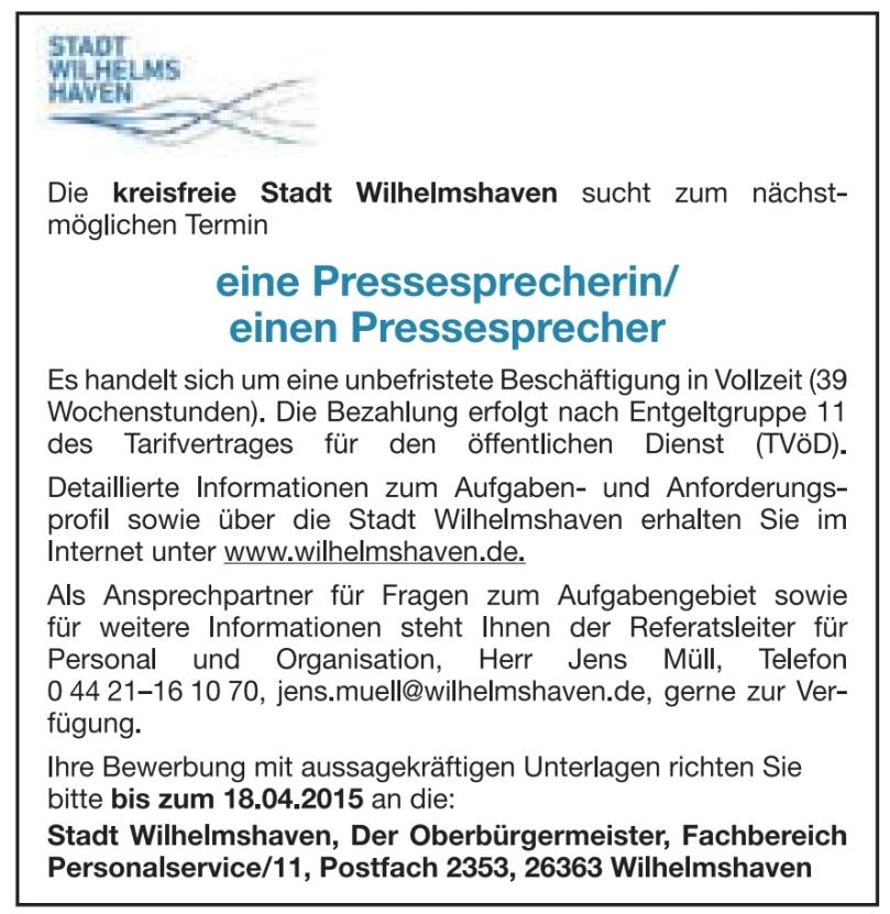 WHV-Presse