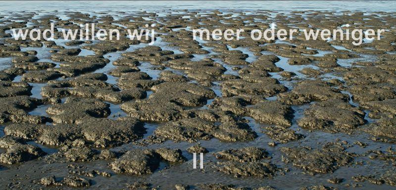 Titelblatt der Einladung zu der deutsch-niederländischen Kunstausstellung in Bad Nieuweschans.