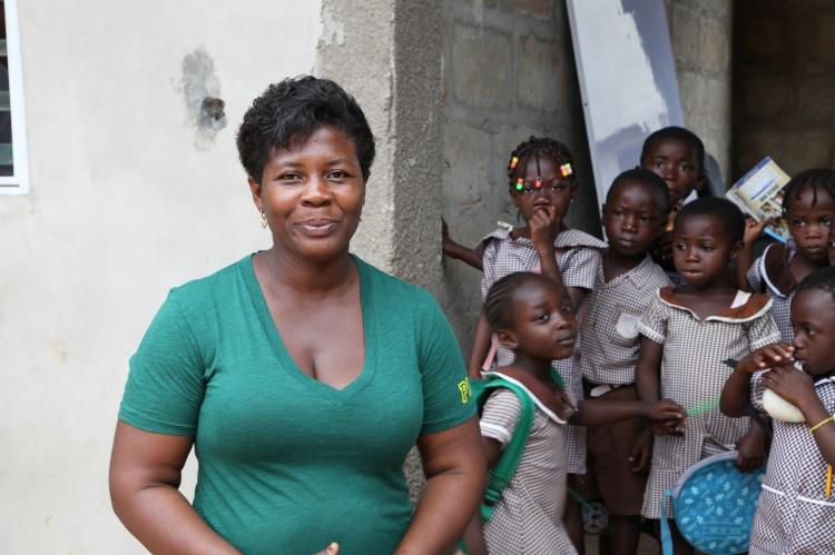 Esther Oduro Asamoah wird am 15. November in Jever über ihre Erfahrungen als Bildungsunternehmerin und Kreditnehmerin der Mikrofinanzorganisation Opportunity International berichten. Foto: OID